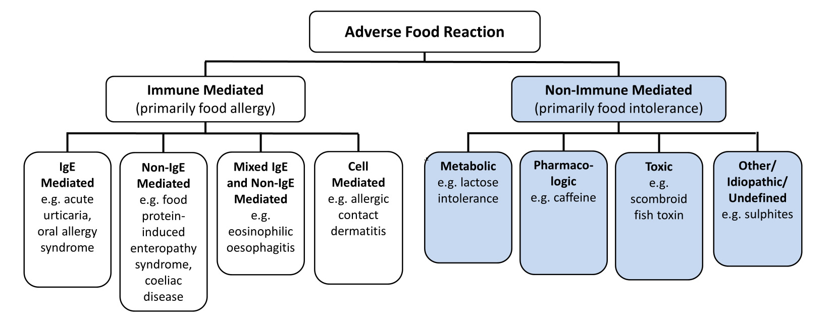Adverse food reaction