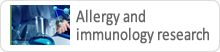 Allergy and immunology research
