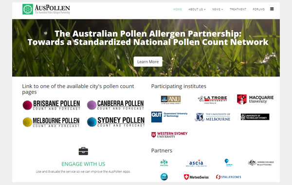 auspollen website 2016