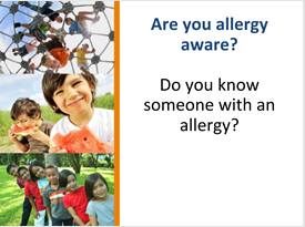 how to be allergy aware