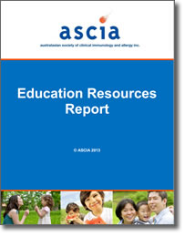 ASCIA Education Resources Report